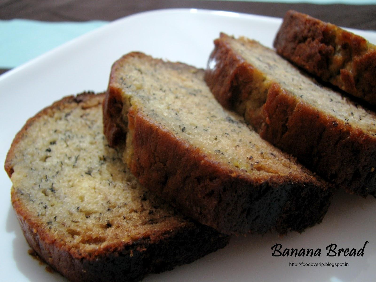 Food Over Ip Banana Bread