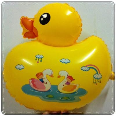 Balon Foil Karakter Bebek Kuning