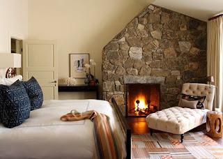 Diseño dormitorio rústico