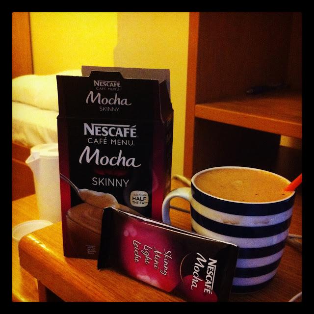 skinny mocha nescafe, skinny mocha review
