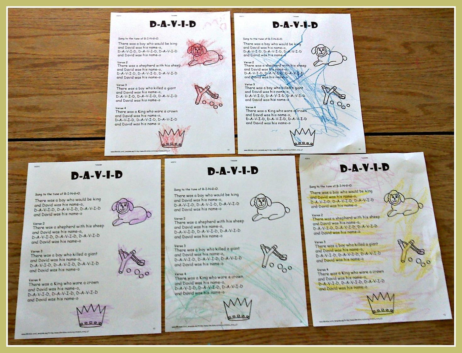 The Walnut Acre Chronicles David Unit Study