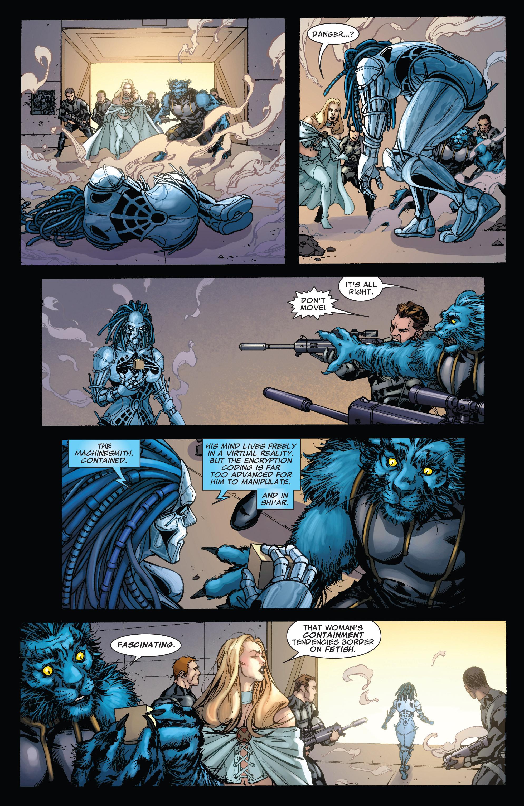 Read online Astonishing X-Men (2004) comic -  Issue #43 - 21