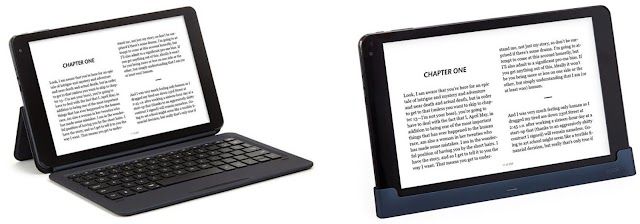 The new Nook Tablet PC from Barnes & Noble can be turned into a temporary laptop