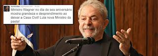 Lula fecha com Dilma e vai para a Casa Civil