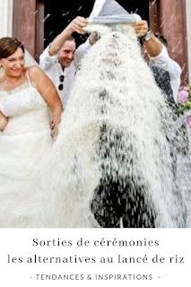 les alternatives au lancé de riz pour les cérémonies de mariages blog mariage unjourmonprinceviendra26.com