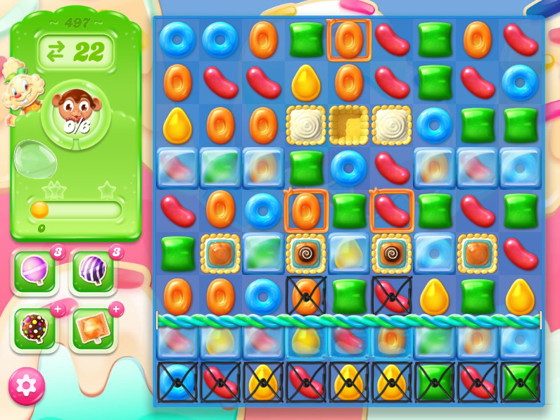 Candy Crush Jelly Saga 497