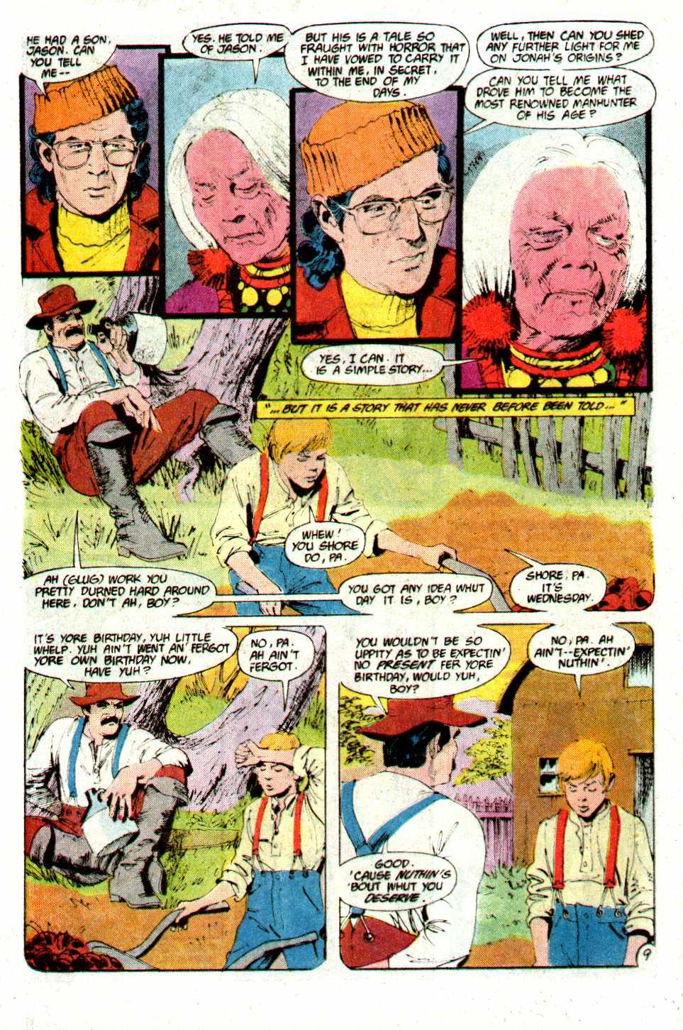 Read online Secret Origins (1986) comic -  Issue #21 - 10