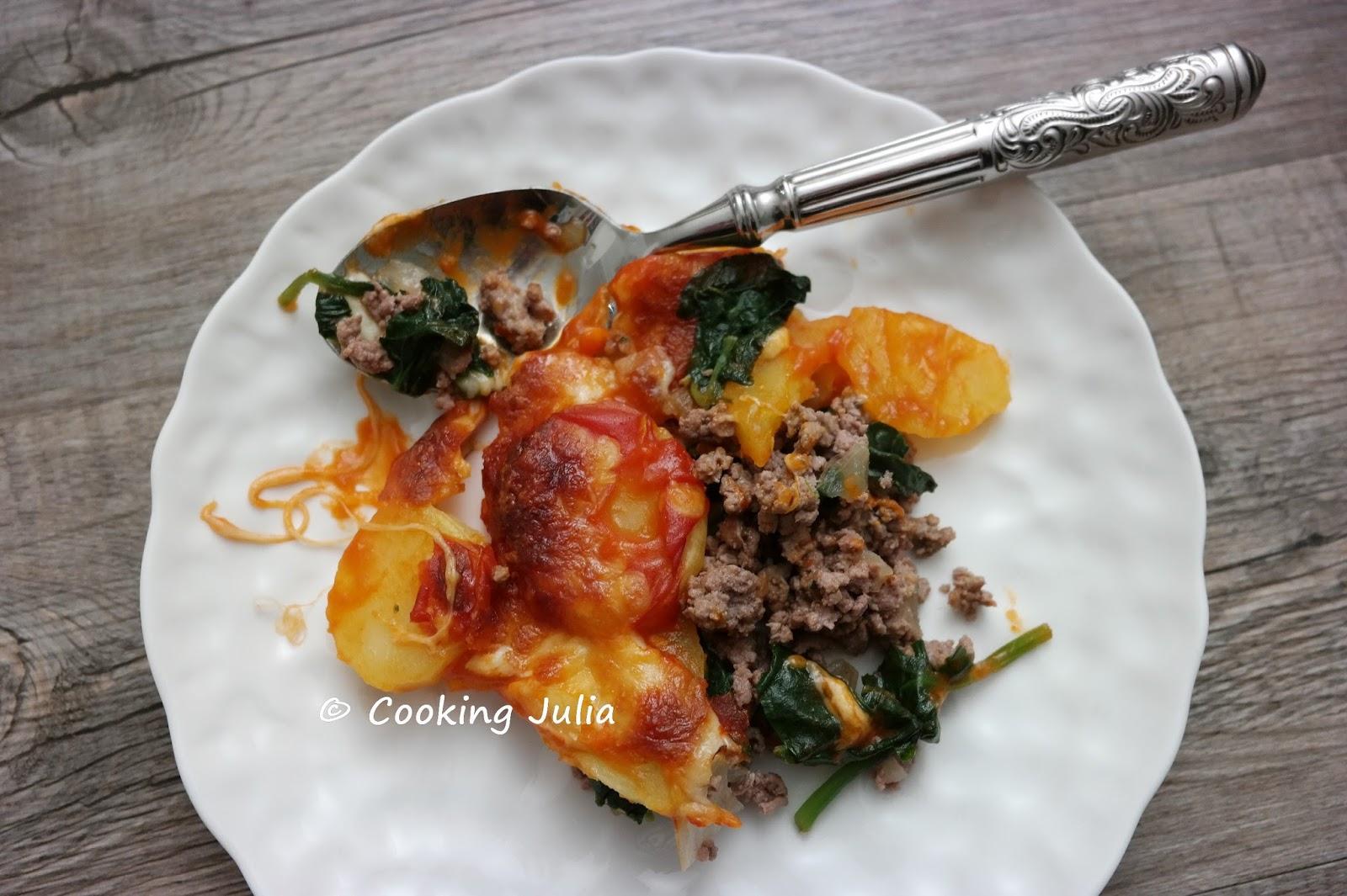 cooking julia gratin de b uf hach aux pommes de terre. Black Bedroom Furniture Sets. Home Design Ideas