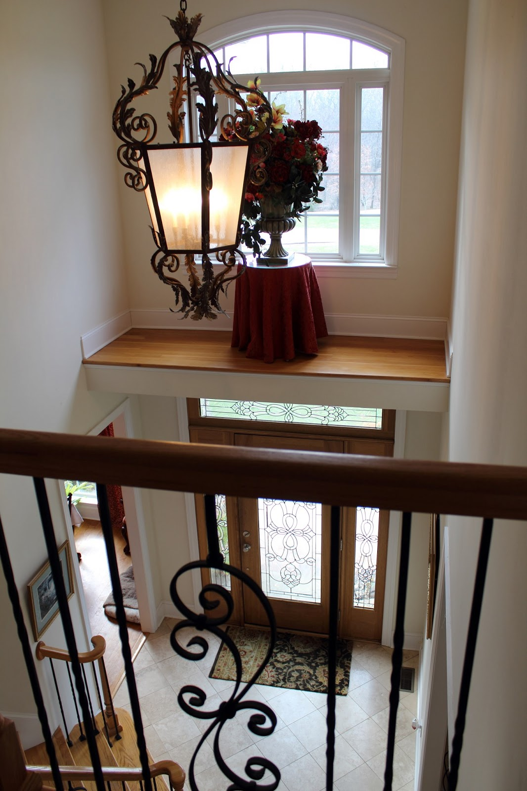 Sewanee Tennessee Home For Sale Foyer And Stairway To