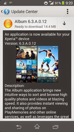 SONY Album 6 3 A 0 12 Update Rolled Out: Download APK - Pcnexus