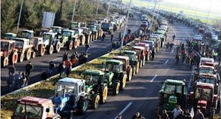 Συγκέντρωση διαμαρτυρίας αγροτών στην Κατερίνη