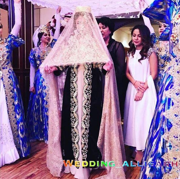 Madina Shokirova noiva Uzbesquistão