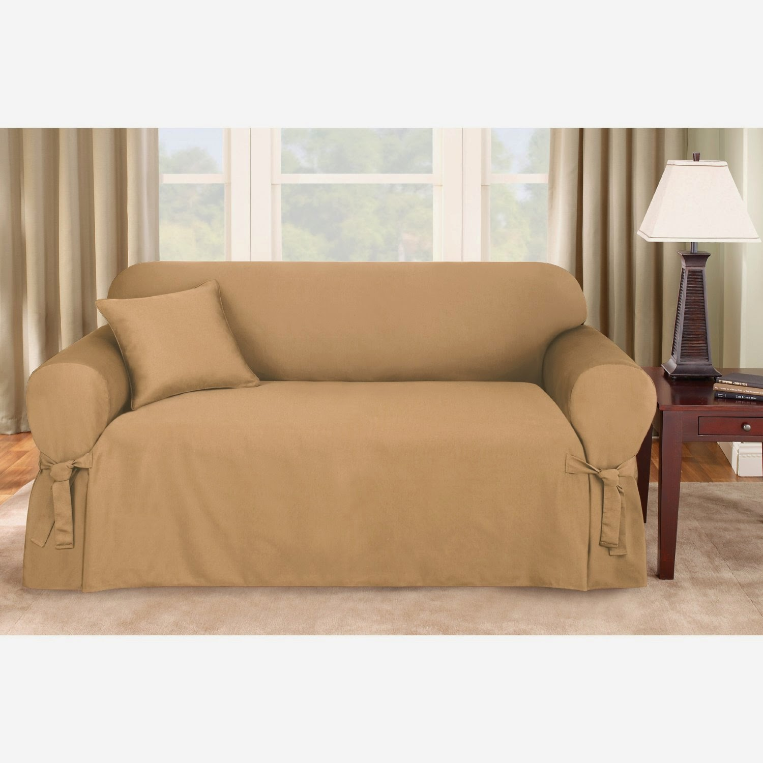 one arm sofa slipcover blue leather sofas couch covers