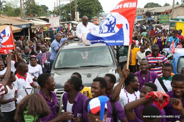 Akufo-Addo stoned at Klottey Korle rally [Video]