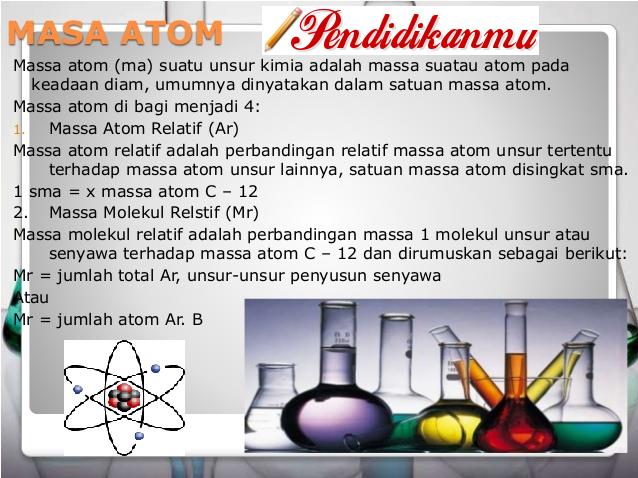 112 Macam Massa Atom Relatif Terbaru
