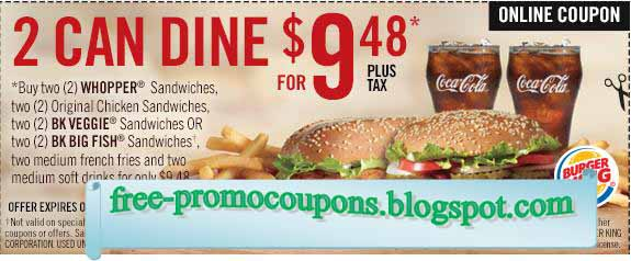 graphic regarding Smoothie King Printable Coupons titled Printable Discount coupons 2019: Burger King Discount coupons