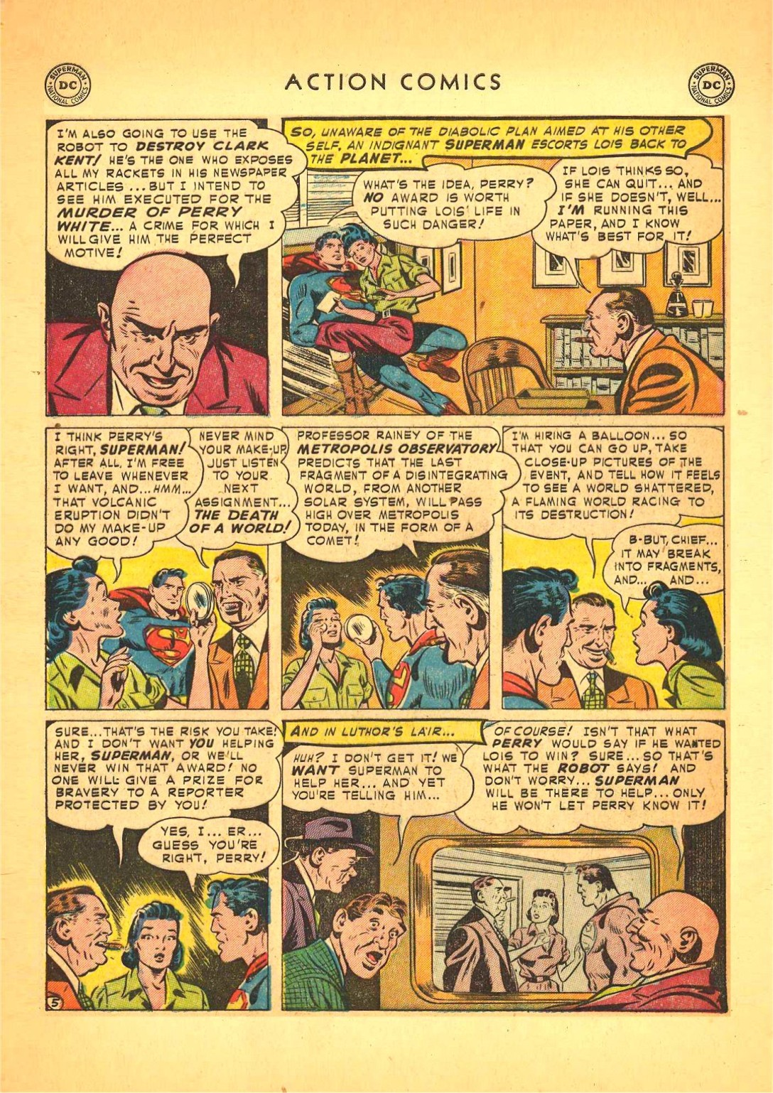 Read online Action Comics (1938) comic -  Issue #166 - 6