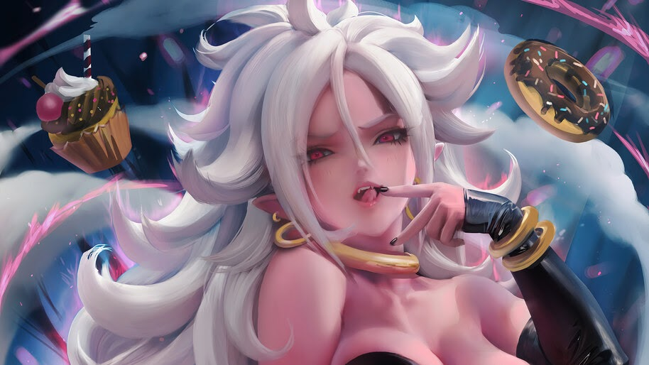 Android 21, Majin, Form, Dragon Ball, Fighterz, 4K, #6.2282