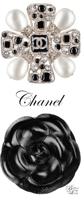 Brilliant Luxury ♦ Chanel Camelia Brooch