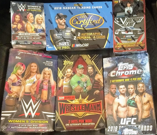 Friendly Box Breaks >> The Raz Card Blog Some Box Breaks And Other Things