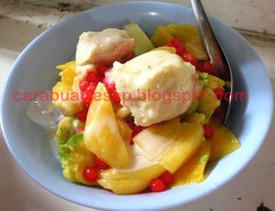 Foto Resep Es Campur Durian Sederhana Spesial Asli Enak