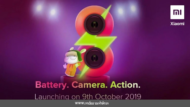 Redmi 8 Launch Date