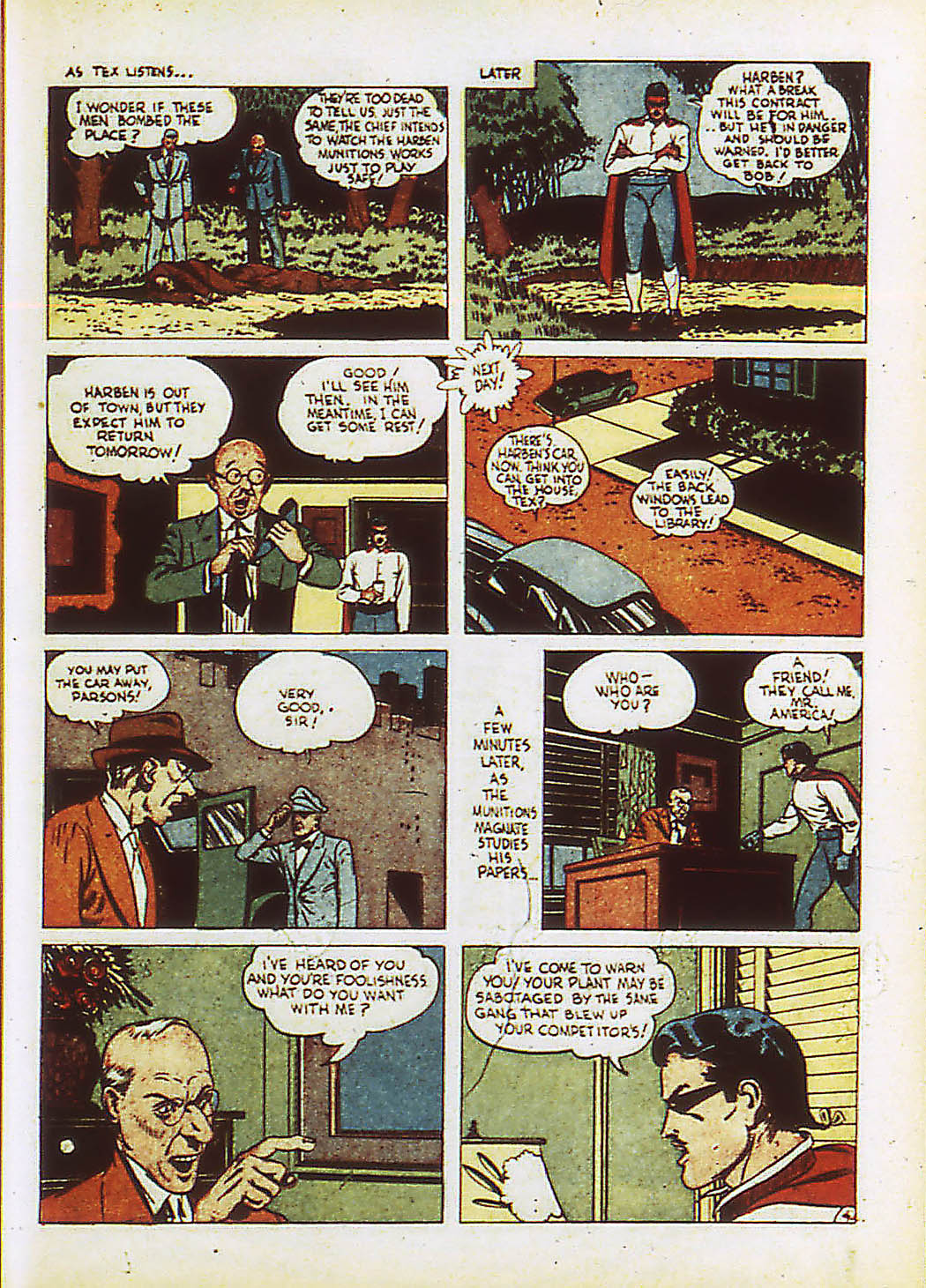 Read online Action Comics (1938) comic -  Issue #34 - 42