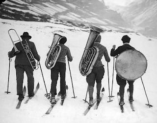 Concert de la fanfare TTGL à la station de ski Serre Chevalier (05) du 19 au 25 Février 2017