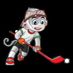 Logo dan Lambang Cabang Olahraga PON Jabar 2016 Hockey Indoor