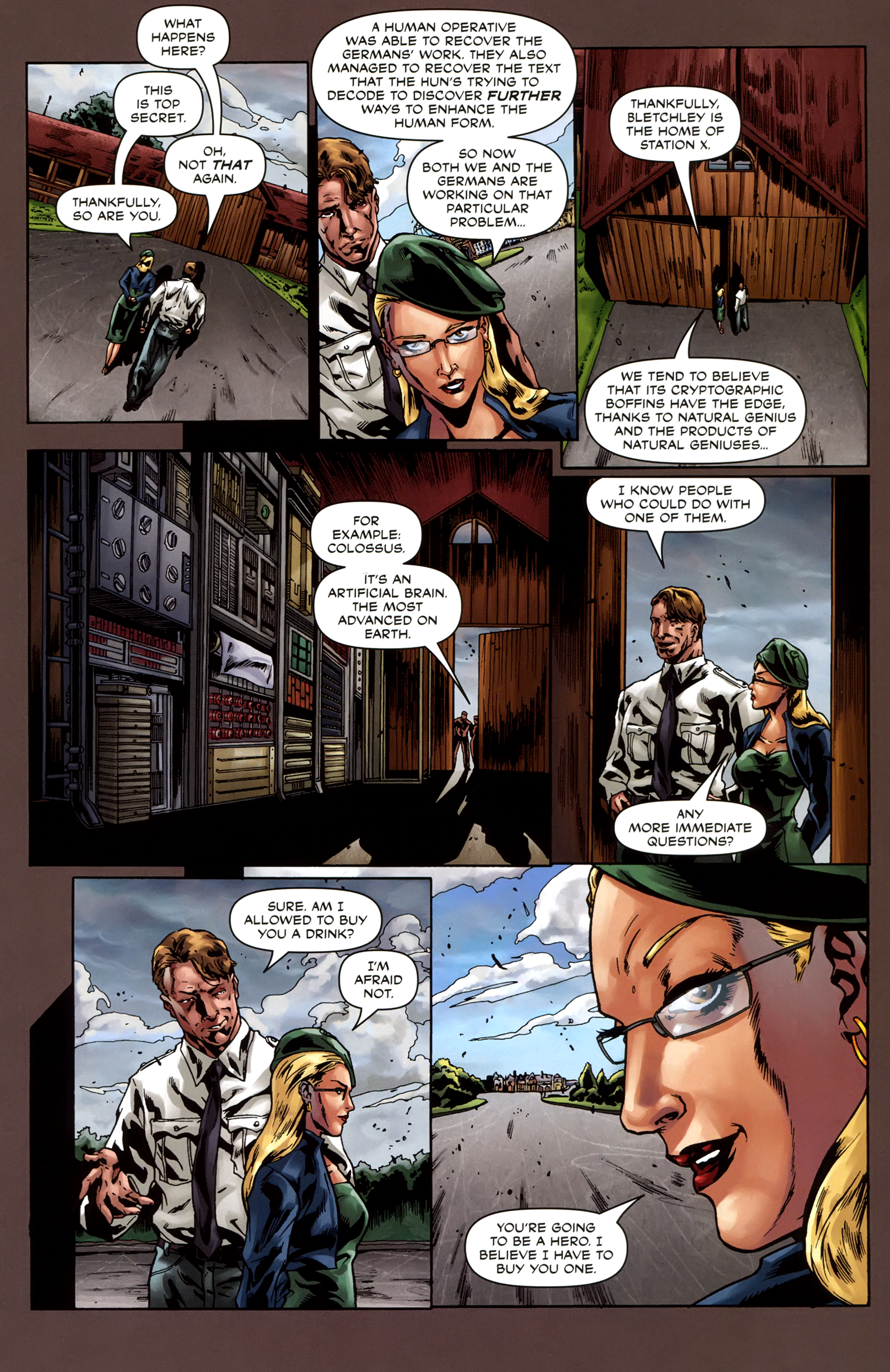 Read online Uber comic -  Issue #3 - 24