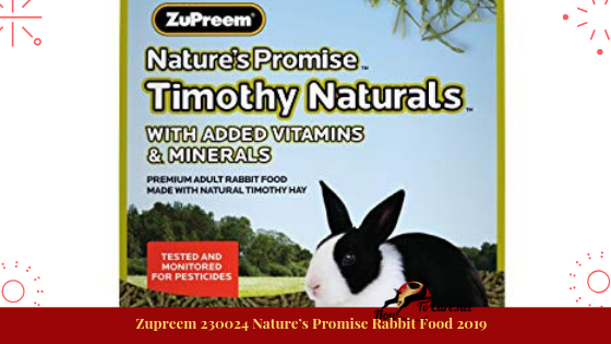 One taste of this sustenance and your bunny will begin to look all starry-eyed at the taste and freshness of the item while additionally accepting the fundamental measure of supplements and nutrients for sound development.