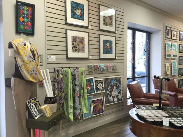 Artsmiths of Pittsburgh locally crafted scarves and prints