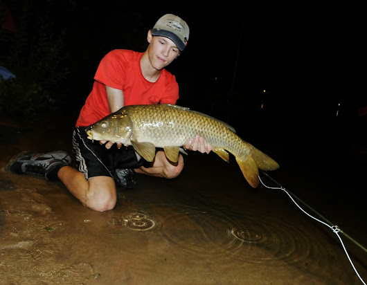 Night Fishing for Carp With a Fly