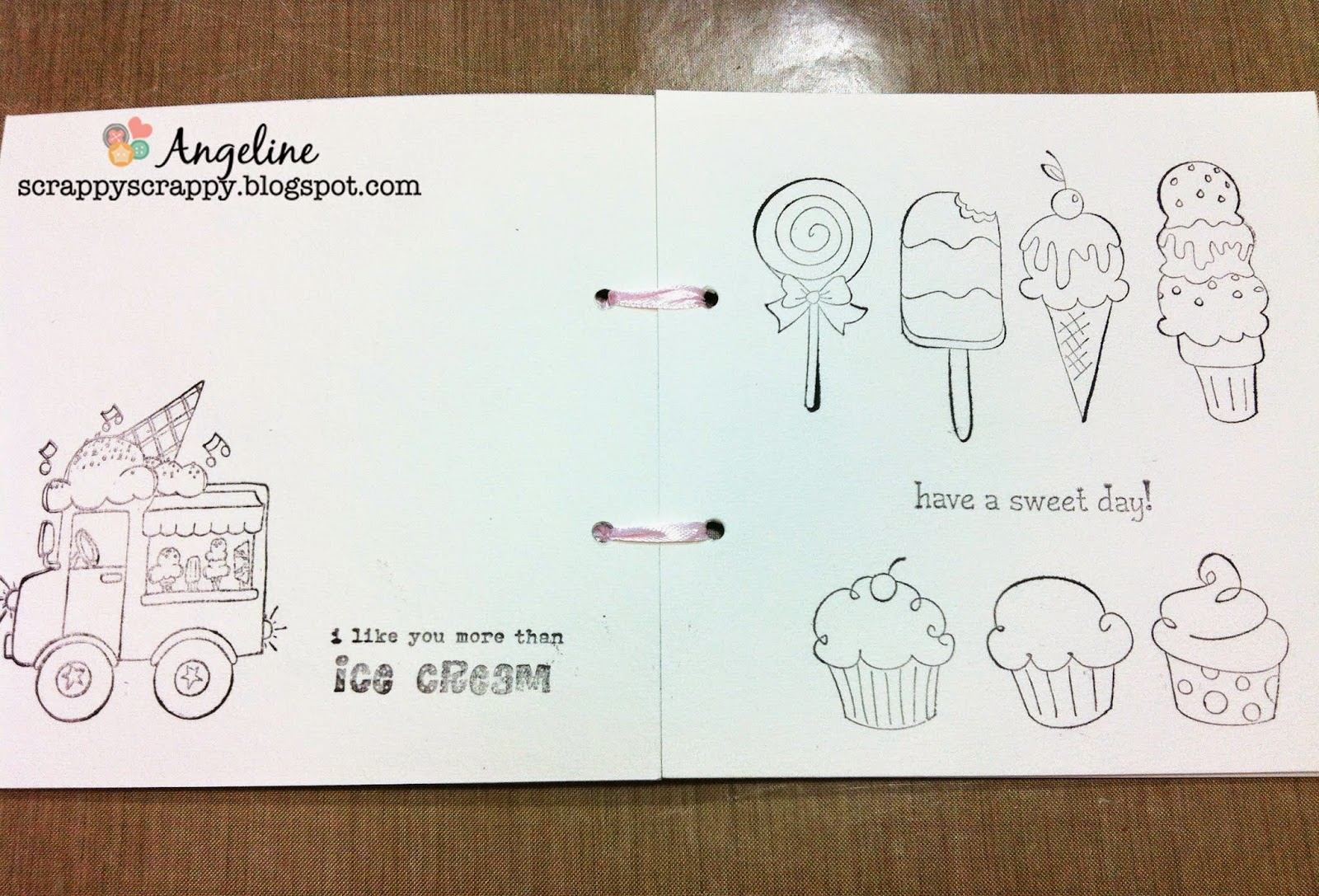 Make your own DIY coloring book.. for kids! - Scrappy Scrappy