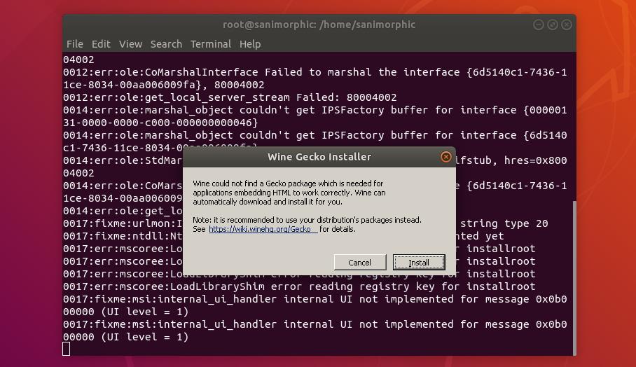 Install Wine 3 14 (Development) on Ubuntu / Linux Mint / Deepin