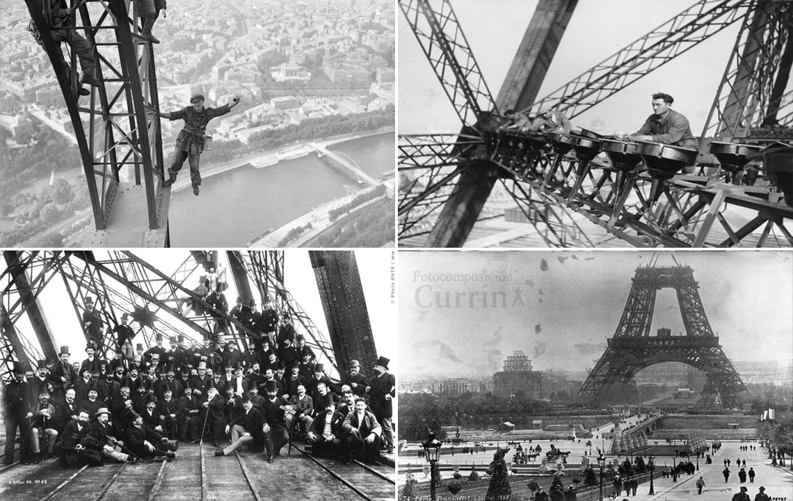 Curr n hace 130 a os comenzaba a construirse la torre eiffel for Cuando se construyo la torre eiffel
