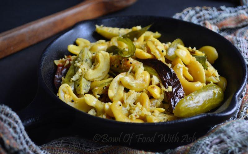 Thondekai Godambi Palya Recipe | How To Make Ivy Gourd Cashew Nut Stir Fry / Tindora Sabji