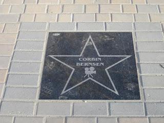 Kipling's Walk Of Fame.