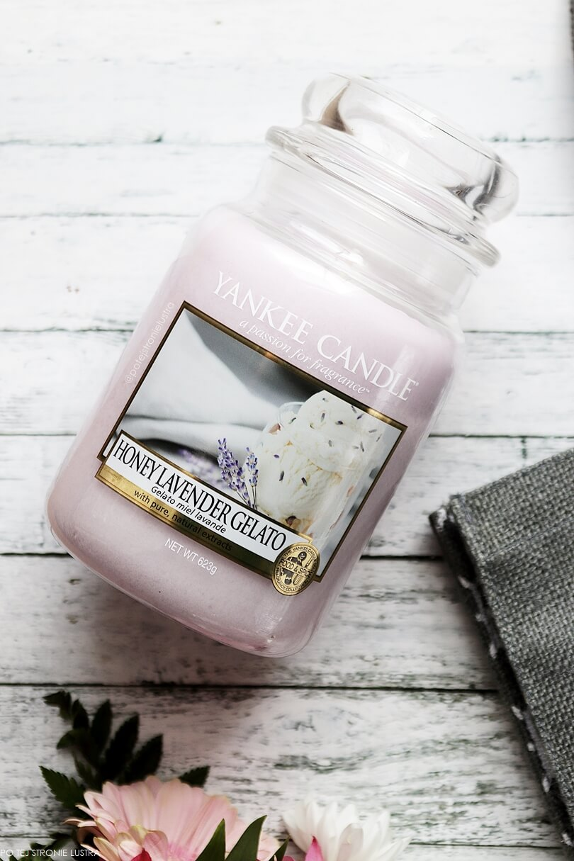 honey lavender gelato yankee candle świeca