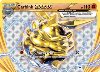 Carbink BREAK Fates Collide Pokemon Card
