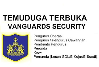 Vanguards Security Kerja Kosong