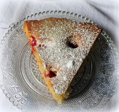 The English Kitchen Raspberry Yogurt Cake