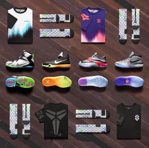 huge discount b2742 e3013 Kobe X, KD 7, & LeBron 12 Nike All-Star Collection Price of ...