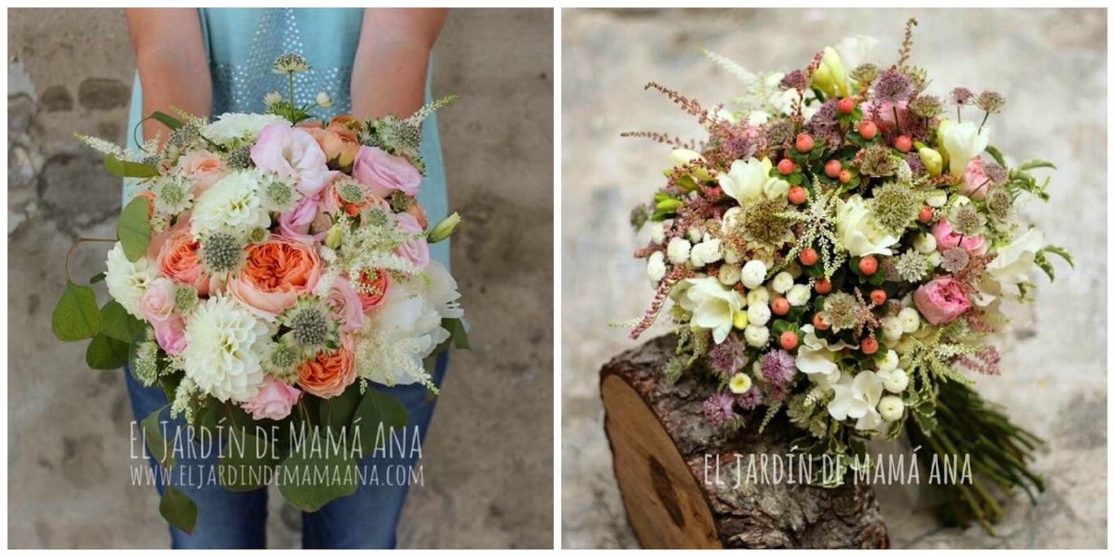 ramos de novia originales decoracion floral el jardin de mama ana blog bodas mi boda gratis