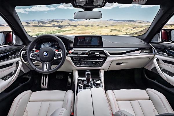 Interior BMW M5 2018