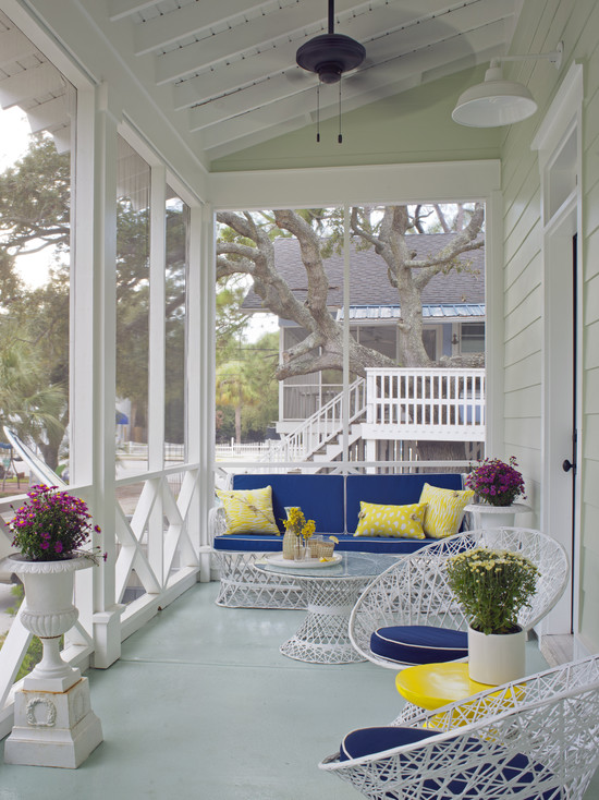 Old Style Country Front Porch