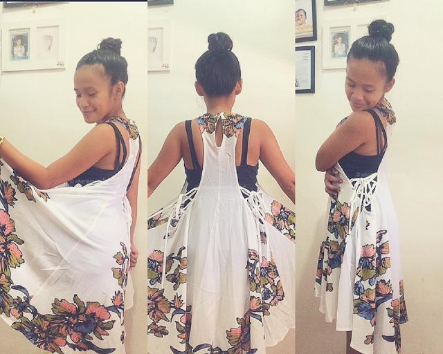 Floral Print Lace-Up Asymmetrical Club Dress