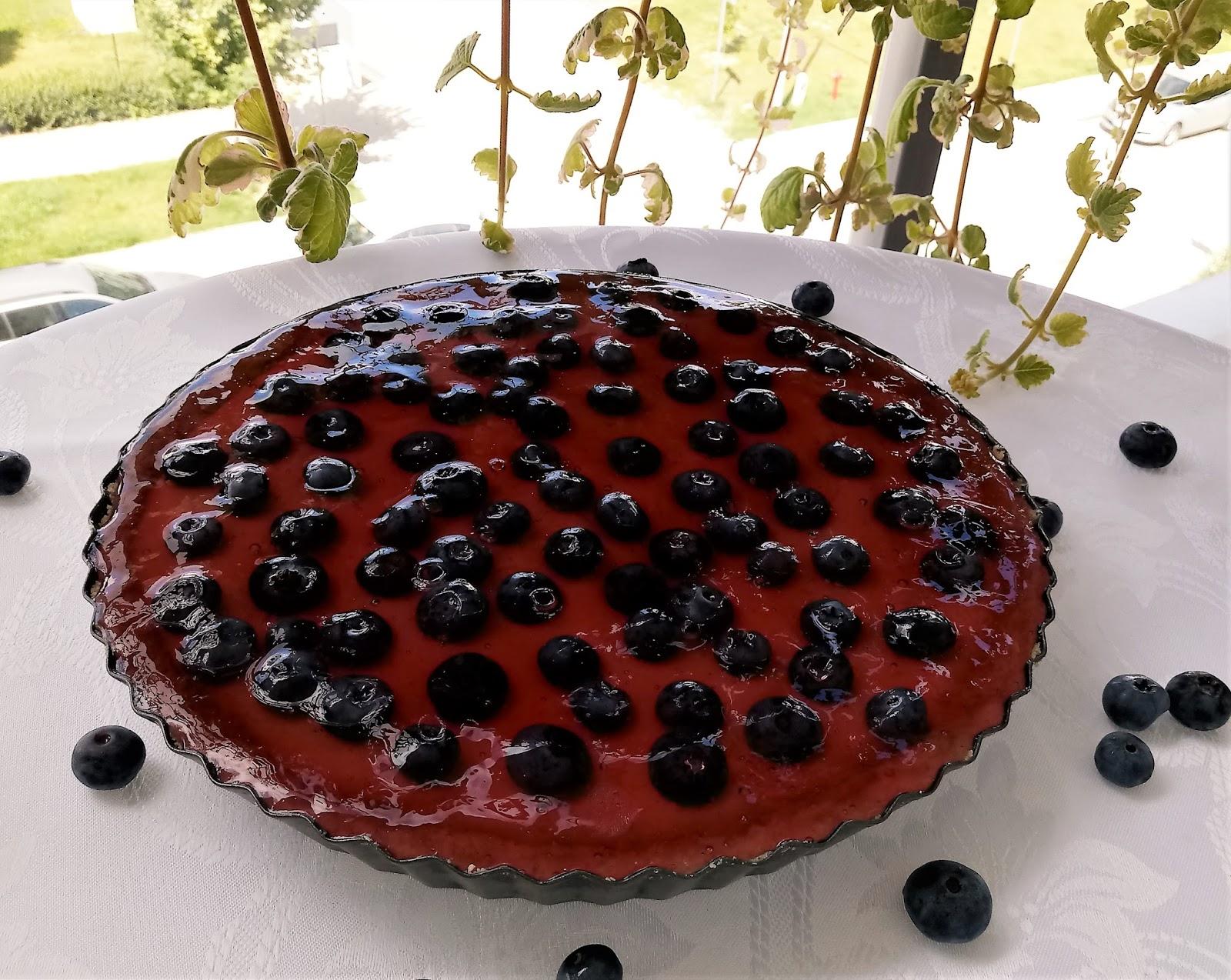 tarta z owocami bez pieczenia