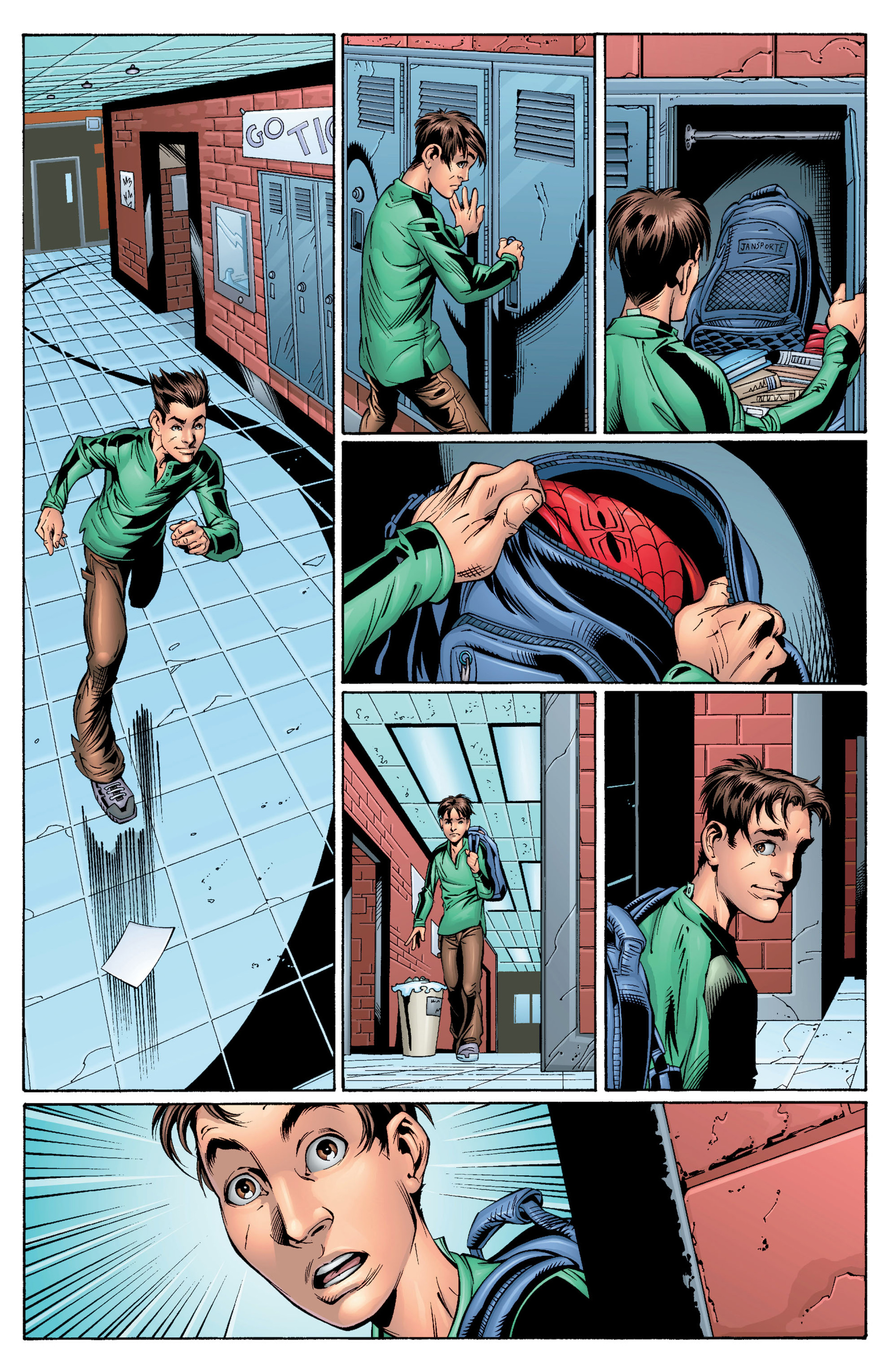Read online Ultimate Spider-Man (2000) comic -  Issue #28 - 6
