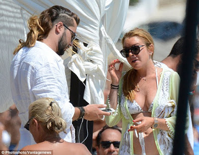 , Actress Lindsay Lohan has a new man, Greek restaurant owner Dennis Papageorgiou, Latest Nigeria News, Daily Devotionals & Celebrity Gossips - Chidispalace